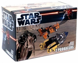 Star Wars Exclusive Pullback Podracer Set [Anakin & Sebulba]