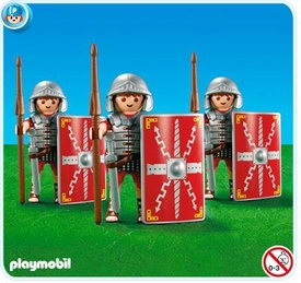 Playmobil Romans & Egyptians Set #7878 3 Legionnaires