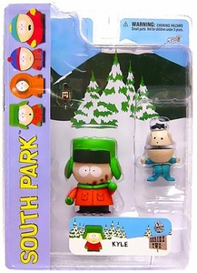 Mezco Toyz South Park Series 2 Action Figure Kyle with Poo-Face Variant