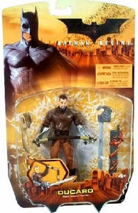 Batman Begins Movie Action Figure Ducard