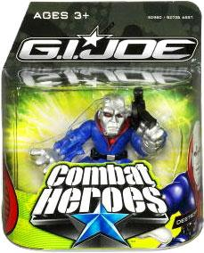GI Joe The Rise of Cobra Combat Heroes Single Pack Destro
