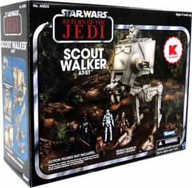Star Wars 2012 Vintage Exclusive Vehicle Scout Walker AT-ST [Return of the Jedi]