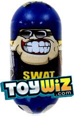 Mighty Beanz Super Rare Special Limited Edition Single #217 Swat Bean #217