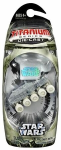 Star Wars Titanium Series Diecast Mini Clone Turbo Tank [Cold Climate] BLOWOUT SALE!