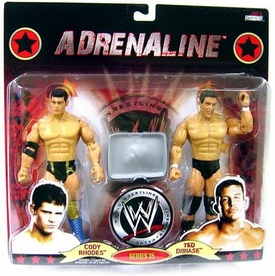 WWE Wrestling Adrenaline Series 35 Action Figure 2-Pack Cody Rhodes & Ted Dibiase