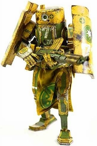 ThreeA World War Robot Portable Caesar Collectible Figure AUS Republic