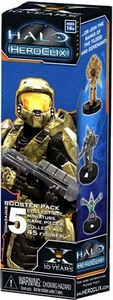 Halo Heroclix Trading Miniature Figure Game 2011 Edition Booster Pack [5 Figures]