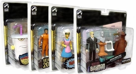Adult Swim Series 1 Set of 4 Action Figure 2-Packs BLOWOUT SALE!