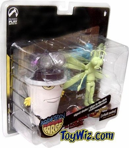 Adult Swim Action Figure 2-Pack Exclusive Master Shake and Glow in the Dark Moth Man Monster BLOWOUT SALE!
