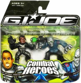 GI Joe The Rise of Cobra Combat Heroes 2-Pack Wallace Ripcord Weems & Destro