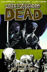 Image Comic Books Walking Dead Trade Paperback Vol. 14 No Way Out