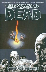 Image Comic Books Walking Dead Trade Paperback Vol. 9 Here We Remain