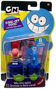 Cartoon Network Dare Off Duos Collectible Figure Game 2-Pack Billy & Blooregard