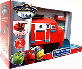 Chuggington Die Cast Playset Wilson Carry Case [with Wilson, Brewster & Koko] BLOWOUT SALE!