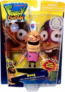 Fanboy & Chum Chum Exclusive 3 Inch Action Figure Boog [Head Bobbing Action] BLOWOUT SALE!
