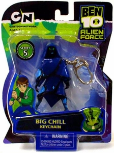 Ben 10 Alien Force Series 5 Keychain Big Chill