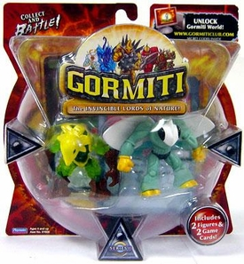 Gormiti Series 1 Mini Figure 2-Pack Goad the Elusive & Mimic the Fast [Random Colors] BLOWOUT SALE!