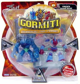 Gormiti Series 1 Mini Figure 2-Pack Hammer the Predator & Goad the Elusive [Random Colors] BLOWOUT SALE!