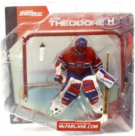 McFarlane Toys NHL Sports Picks Series 1 Action Figure Jose Theodore (Montreal Canadiens)