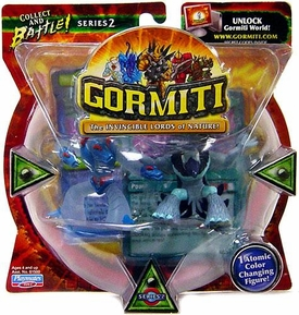 Gormiti Series 2 Mini Figure 2-Pack Moray The Crusher & Magic Crow [Random Colors] BLOWOUT SALE!