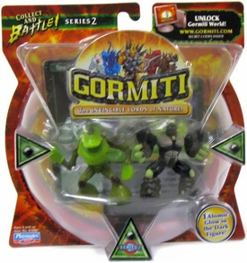 Gormiti Series 2 Mini Figure 2-Pack Sferst The Devourer & Diamond The Ancient Soldier [Random Colors] BLOWOUT SALE!