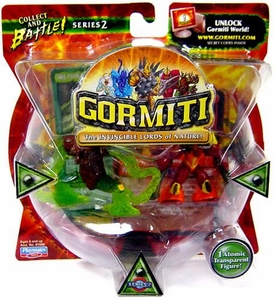 Gormiti Series 2 Mini Figure 2-Pack The Patient Motionless & Steelblade the Cutthroat [Random Colors] BLOWOUT SALE!