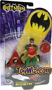 Batman Mattel Action Figure Battle Board Robin [Red]