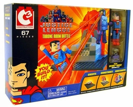 Justice League C3 Construction Set Throne Room Battle