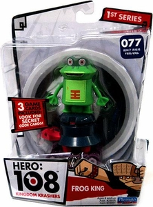 Hero: 108 Kingdom Krashers Series 1 Action Figure #077 Frog King BLOWOUT SALE!