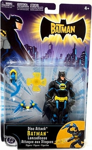 Batman Animated Mattel Action Figure Disc Attack Batman