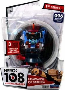 Hero: 108 Kingdom Krashers Series 1 Action Figure #096 Commander of Darkness BLOWOUT SALE!