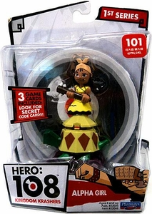 Hero: 108 Kingdom Krashers Series 1 Action Figure #101 Alpha Girl BLOWOUT SALE!