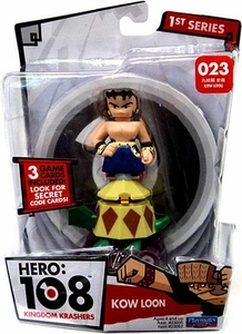 Hero: 108 Kingdom Krashers Series 1 Action Figure #23 Kow Loon BLOWOUT SALE!