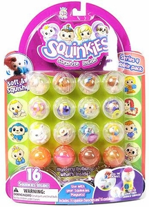 Squinkies Pencil Topper Figure Bubble Pack Series 4 [Includes 16 Squinkies]