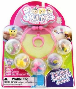 Squinkies Pencil Topper Accessory Bracelet Birthday Surprize