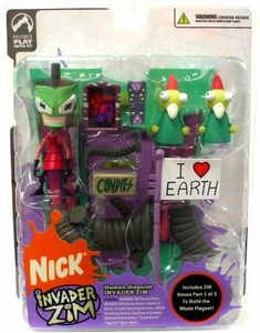Invader Zim Series 2 of Doom! Action Figure Human Disguise Invader Zim BLOWOUT SALE!