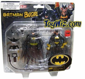 Batman Micro Action Series MA-SP01 Batman & Batgirl