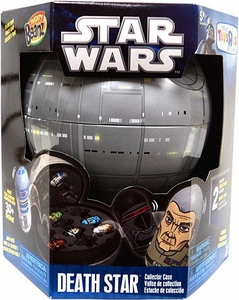 Mighty Beanz Star Wars Exclusive Tin Collector Case Death Star