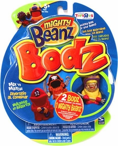 Mighty Beanz Bodz Exclusive Mix n Match Random Pack [2 Whacky Bodz 1 Mighty Bean]