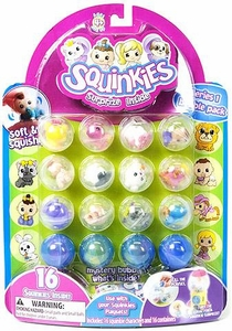 Squinkies Pencil Topper Figure Bubble Pack Series 1 [Includes 16 Squinkies]