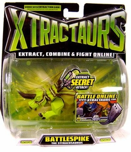 Mattel Xtractaurs Game Figure Battle Spike The Styracosaurus BLOWOUT SALE!