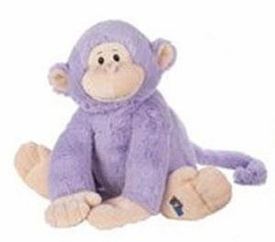 Webkinz Jr. Plush Purple Monkey