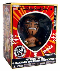 WWE Wrestling Vinyl Aggression 3 Inch Figure Series 1 Umaga