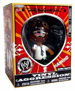WWE Wrestling Vinyl Aggression 3 Inch Figure Series 1 Mankind