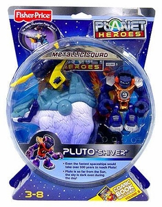 Planet Heroes Metallic Squad Deluxe Action Figure Pluto [Shiver]