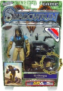 Shadowrun Duels Game Series 1 Action Figure G-Dogg BLOWOUT SALE!