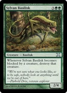 Magic the Gathering Tenth Edition Single Card Uncommon #301 Sylvan Basilisk
