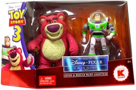 Disney / Pixar Toy Story 3 Screen Scenes Action Figure 2-Pack Lotso & Rescue Buzz Lightyear