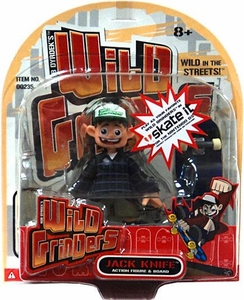 Wild Grinders Action Figure & Board Jack Knife