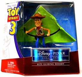 Disney / Pixar Toy Story 3 Collection 4 inch Action Figure Kite Gliding Woody Foil Package!